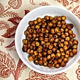 Honey Roasted Cinnamon Chickpeas