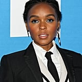 Janelle Monáe With Blue Eyeliner