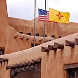 Tour the New Mexico Museum of Art in Santa Fe.