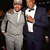 Jay Z and Chance the Rapper linked up in 2017.