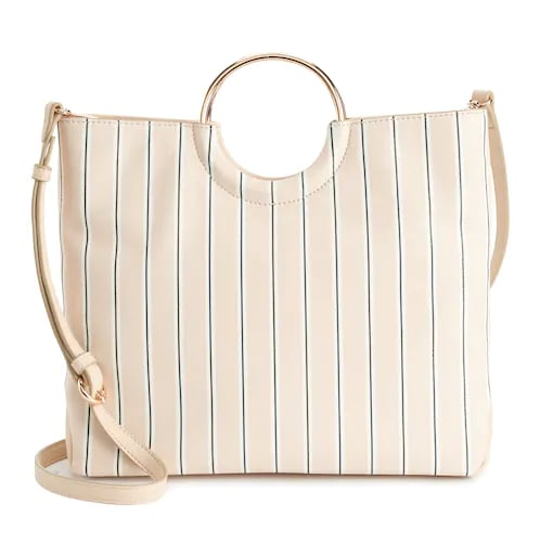 Ring Convertible Crossbody Bag