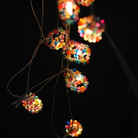 Light up your space with an updated take on the classic with these Beaded String Lights ($17).