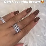 Jordyn Woods's Toffee Nail Polish Color