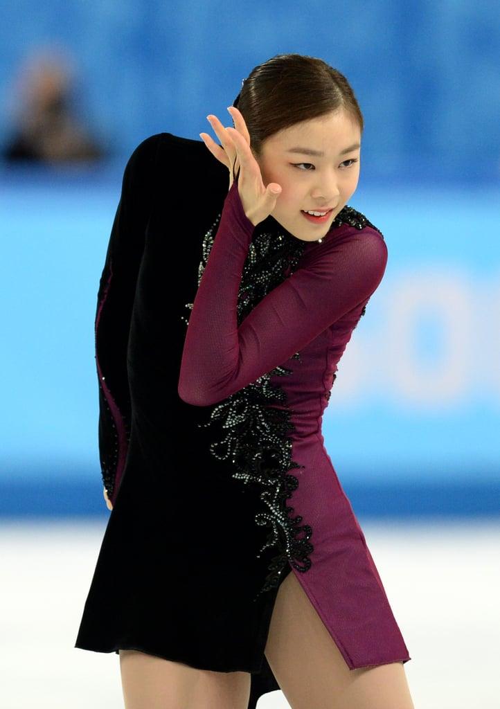 Yuna Kim South Korea Womens Figure Skating Hair At