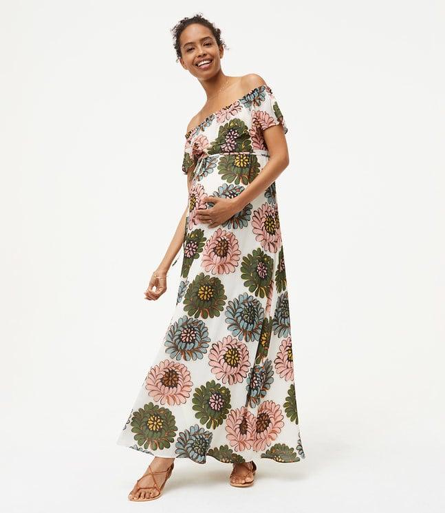 5697e822 Maternity Clothes at Loft   POPSUGAR Fashion