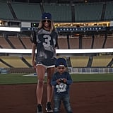 Ciara and Russell Wilson Bring Baby Future to the Ballpark — See the Precious Pics!