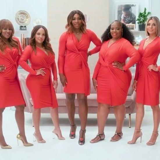 Serena Williams Body Positive Twist Front Dress