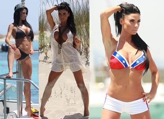 Jordan aka Katie Price in Bikini on Calendar Photo Shoot