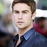 Chace Crawford wore blue for his scenes with Kaylee DeFer.