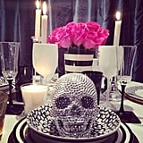 This blinged-out skull is far from macabre.