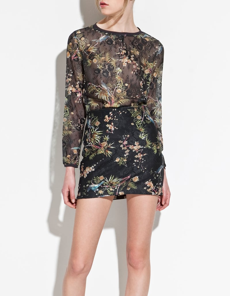 Zara Must-Have Item: Silk Lace Top ($40)