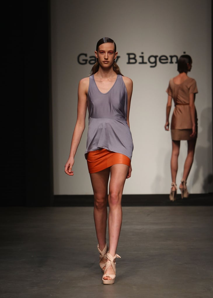 Photos of Gary Bigeni SS 2010-11 Collection at RAFW 2010