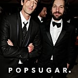 Adrien Brody and Paul Rudd buddied up at Vanity Fair's afterparty.