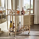 HomeSullivan Ariella Rose Gold Bar Cart