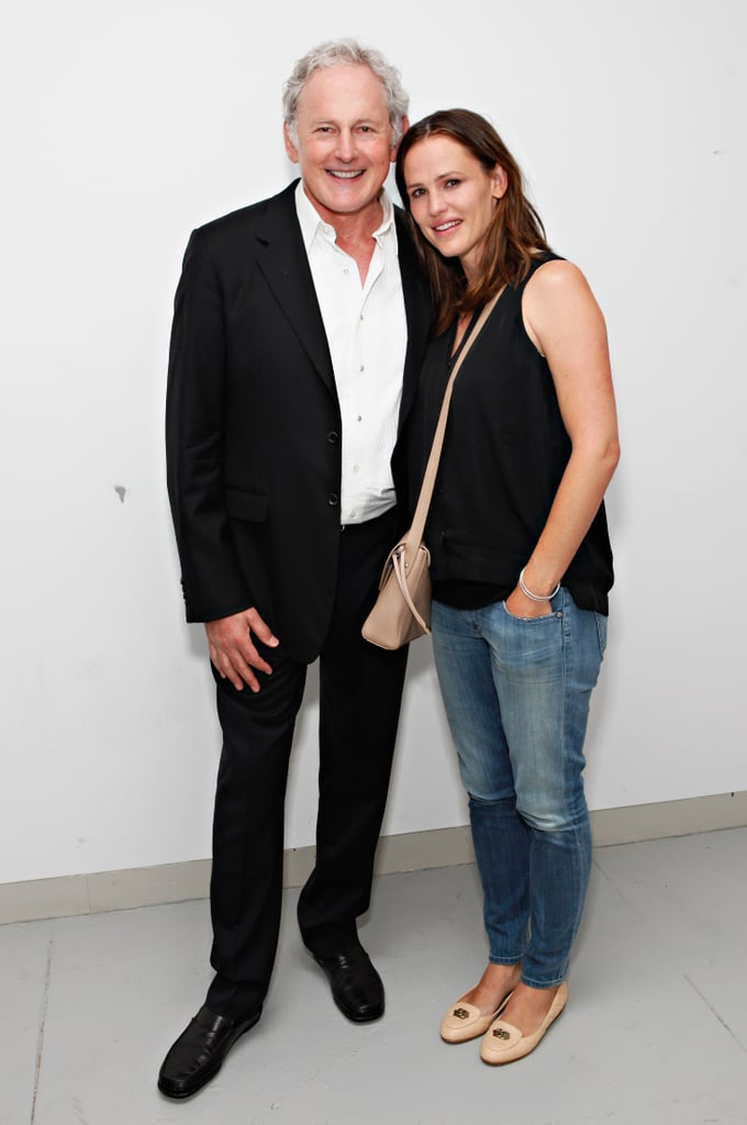 Actor Victor Garber (remember him from Titanic?) caught up with old pal Jennifer Garner following his performance at Broadway nightclub 54 Below in NYC on August 14. The pair starred together in Alias from 2001-2006.