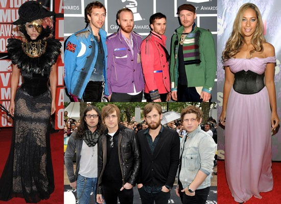 Photos of 2009 MTV Europe Music Awards Nominations Including Robbie Williams, Coldplay, Leona Lewis, Lady GaGa, Kings of Leon