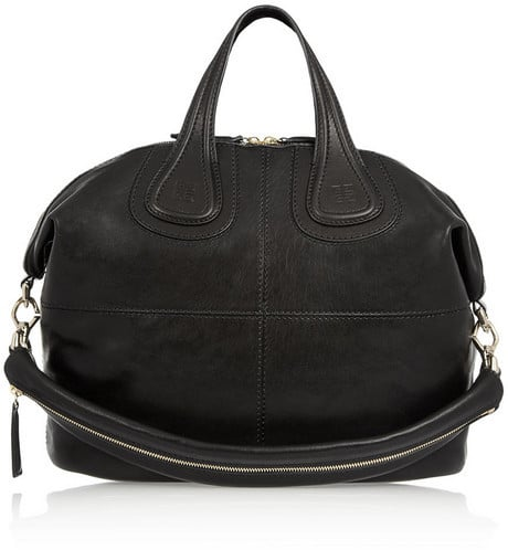 As someone who basically carries their life around with them, I'd love to upgrade my current tote with this Givenchy Nightingale ($1,965). Besides being roomy, the pale gold hardware is supersophisticated, and the supple black lambskin leather will last forever. 