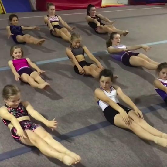 Baby Shark Ab Challenge Video