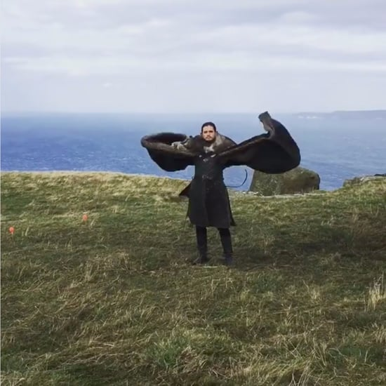 Emilia Clarke's Video of Kit Harington on Game of Thrones