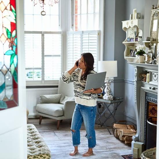 عدد المرات التي يجب عليكِ الوقوف فيها أثناء العمل من المنزل؟