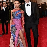 Robert Pattinson and FKA Twigs at the Met Gala 2015