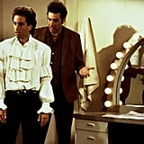 The Top Also Bared at Uncanny Resemblance to Jerry Seinfeld's Puffy White Shirt