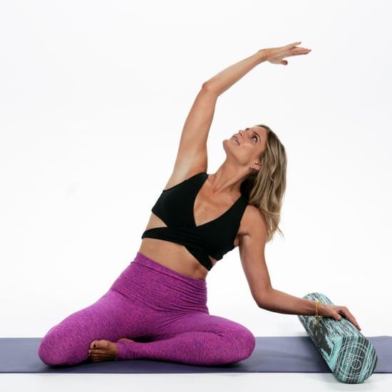 10 Bauch- Übungen mit einer Schaumstoffrolle