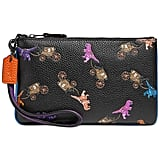 Coach Rexy and Carriage Repeat Print Wristlet