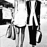 Tailored blazers and cool wedges were featured in Emporio Armani's Spring '12 ads. Source: Fashion Gone Rogue