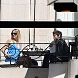 Pregnant Kate Hudson Enjoys Kisses, Wine, and Hand-Holding With Matthew and Ryder In Argentina