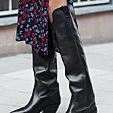 & Other Stories Knee High Cowboy Boots