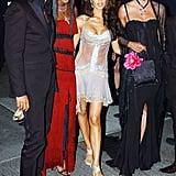 Stefano Gabbana, Naomi Campbell, Victoria Beckham, and Linda Evangelista — 2003