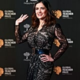 Salma Hayek, Matthew McConaughy at Global Teacher Prize