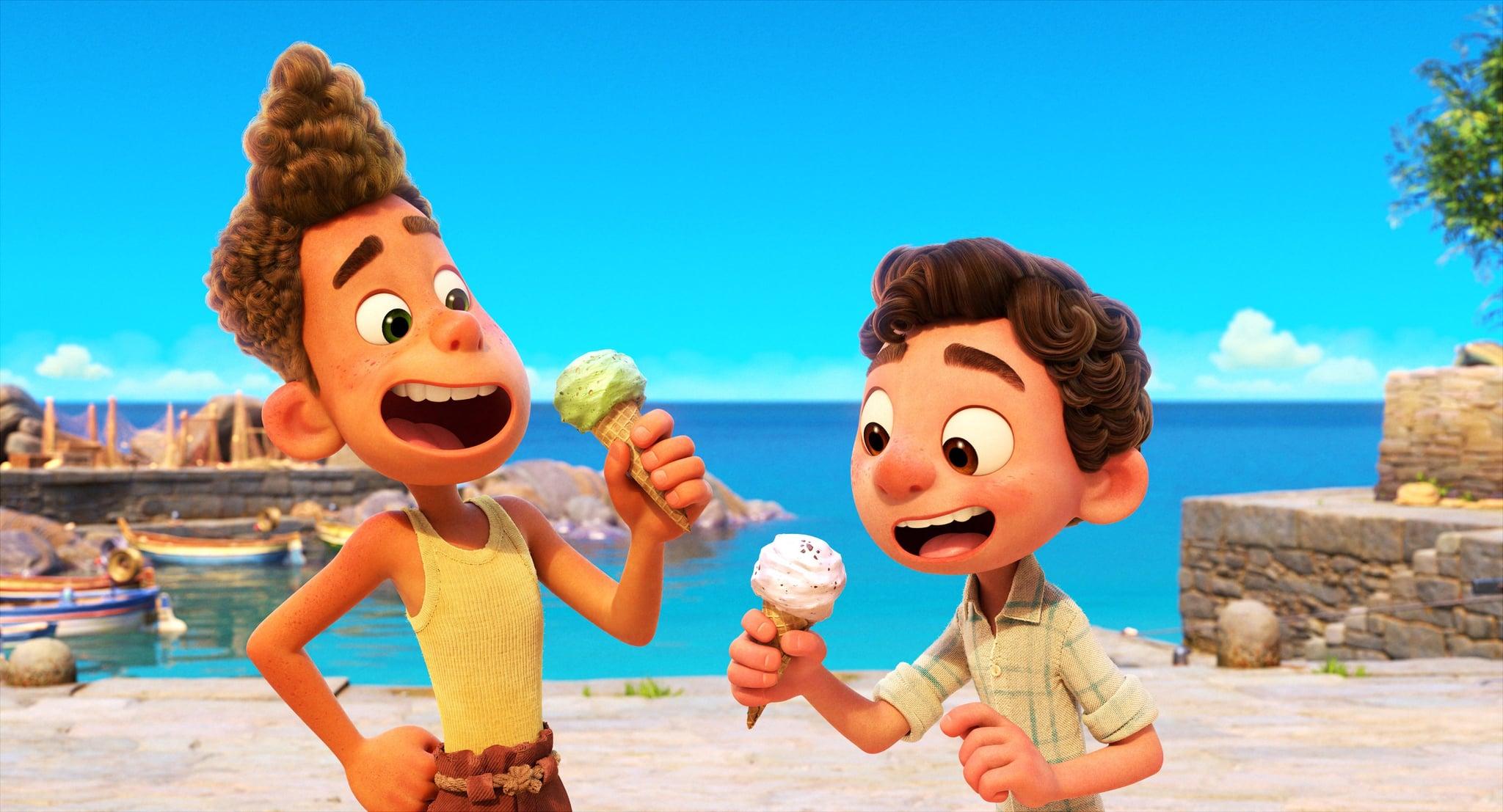 LUCA, from left: Alberto, Luca, 2021.  Disney /Courtesy Everett Collection