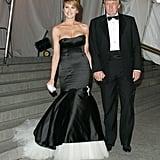 Melania Trump at the 2005 Met Gala