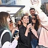 Selena Gomez's Hoop Earrings by Alison Lou