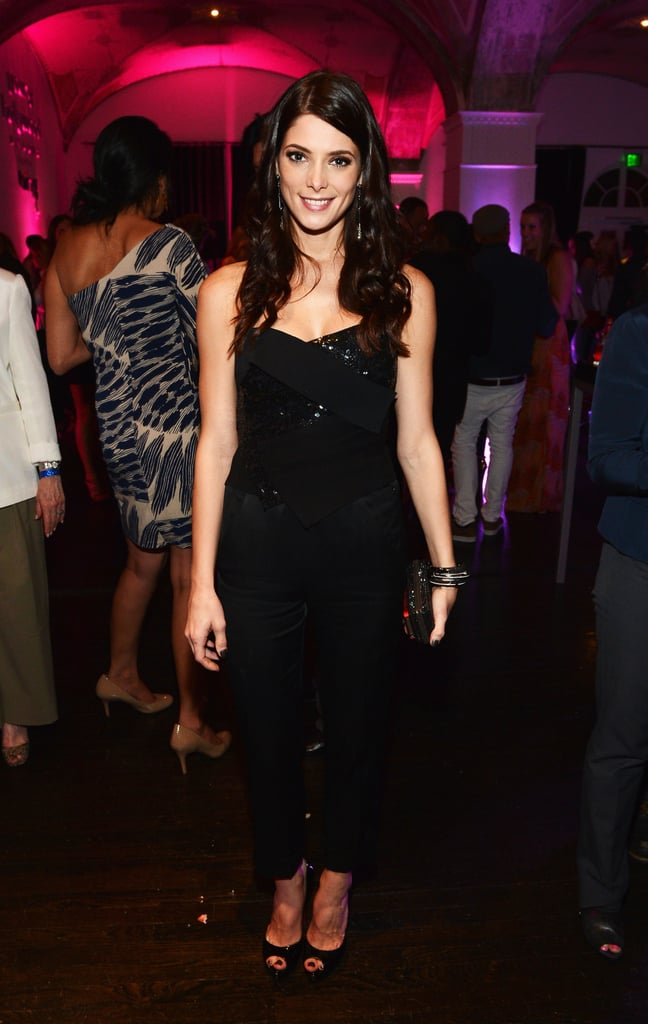 Ashley Greene arrived at the after party once her hosting duties are finished.