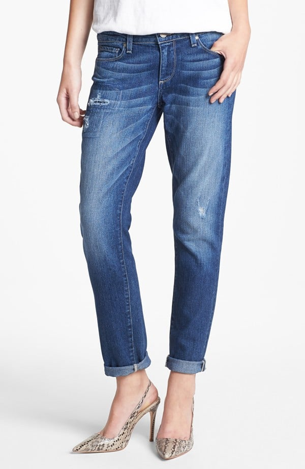 The roomy boyfriend jean officially became a classic sometime in the last few years. Add to your stash with this Paige pair ($135, originally $209).