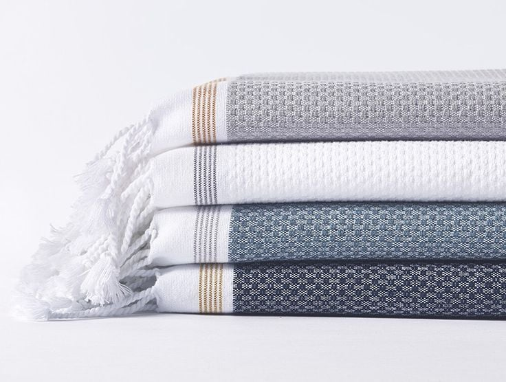 Coyuchi Mediterranean Organic Bath Towels