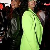 Rihanna and Ella Mai