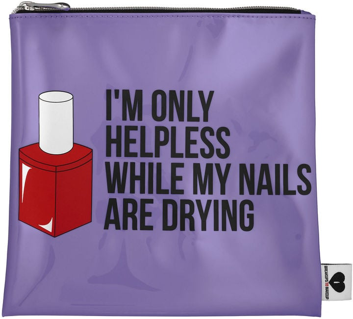 Sephora Breakup To Makeup Jelly Bag