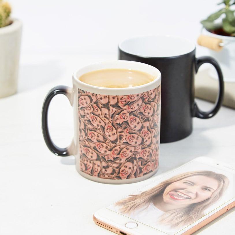 Personalized Heat Changing Mug