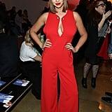 A Fiery Red Jumpsuit