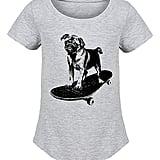 Skateboard Pug Tee