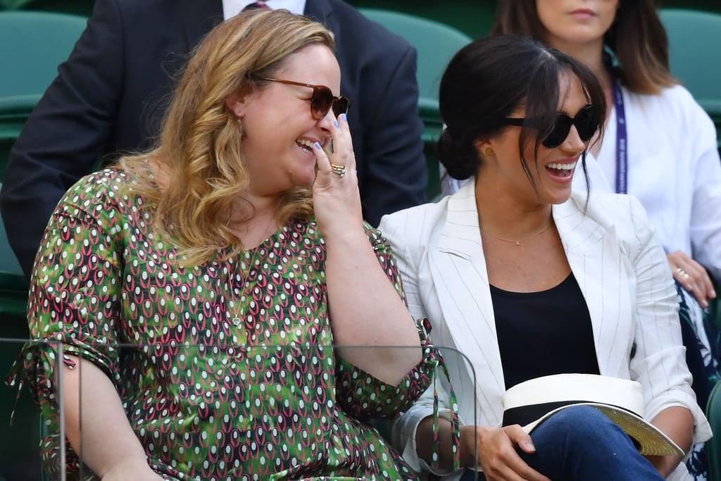 Meghan Markle at Wimbledon 2019 Photos