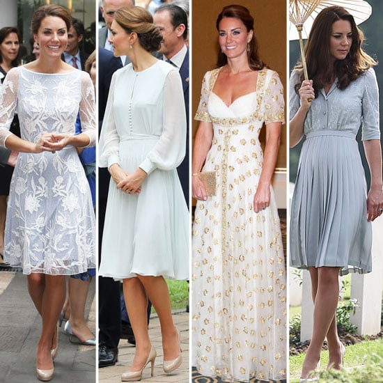 All Of Kate Middleton 39 S Looks From All Angles Popsugar Fashion Australia