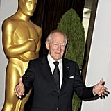 Max von Sydow at the 2012 Oscar nominees lunch.