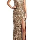 Rachel Gilbert Seraphina Sequin Gown