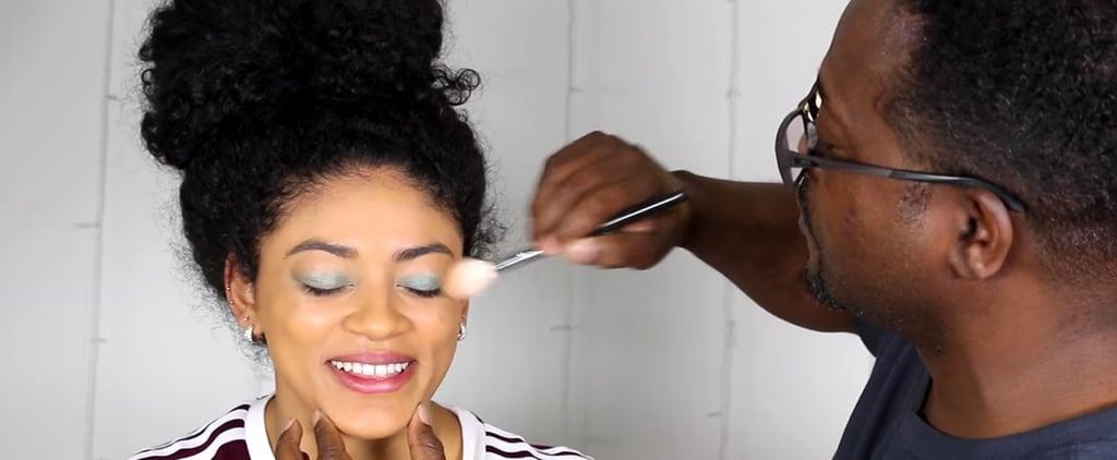 Jasmine Brown's Dad Does Her Makeup Video