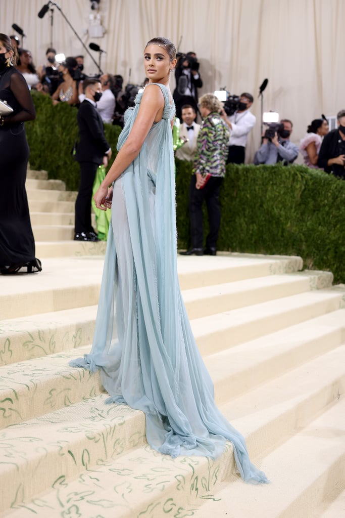 Taylor Hill at the 2021 Met Gala